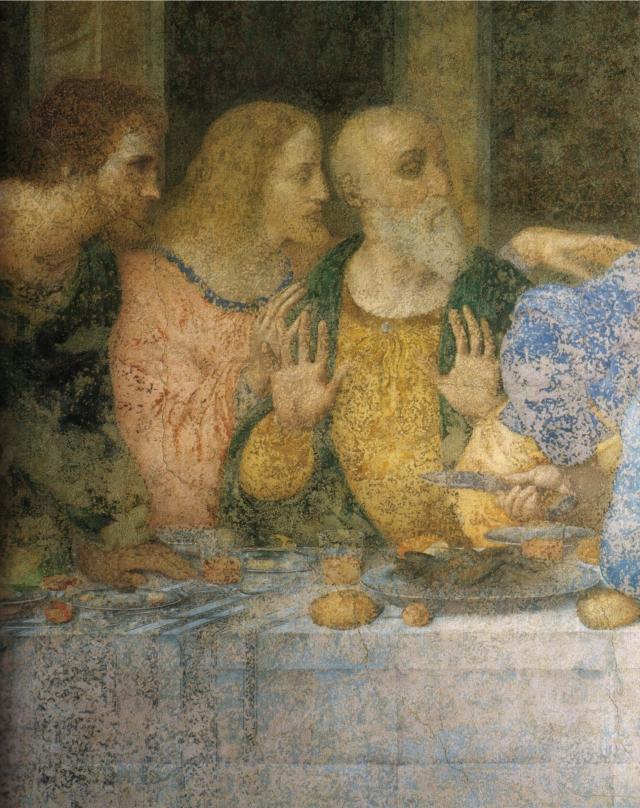 Leonardo,_ultima_cena_(restored)_04